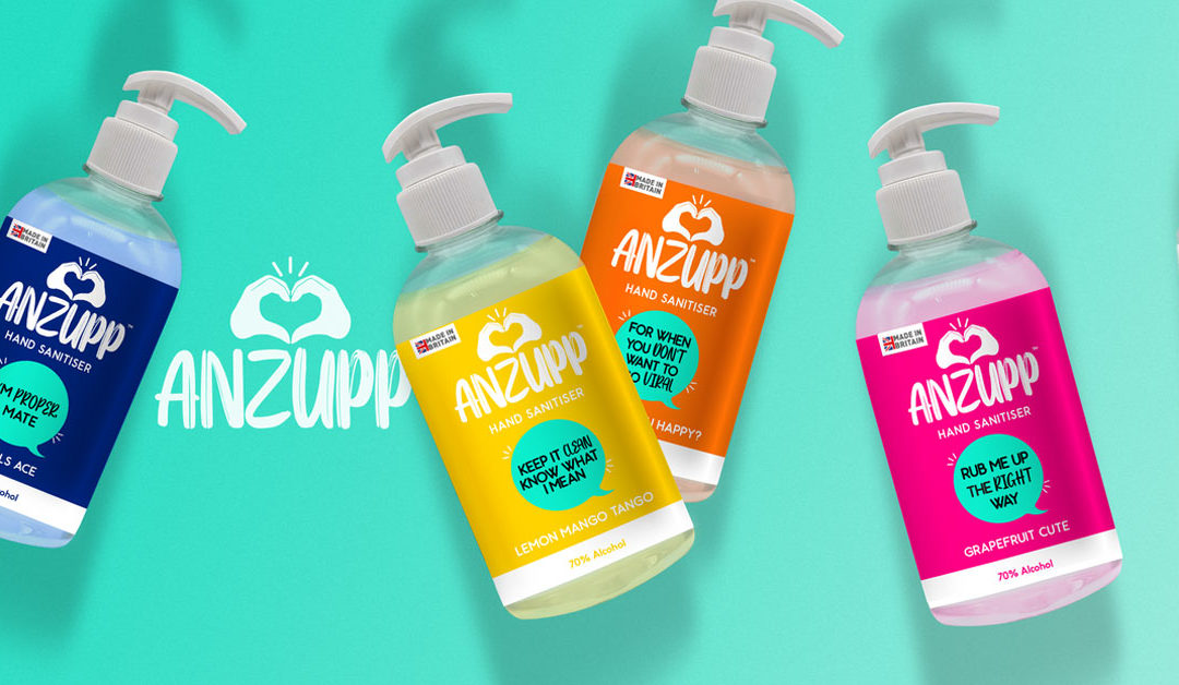 Brand Factor launches quirky new UK hand sanitiser brand
