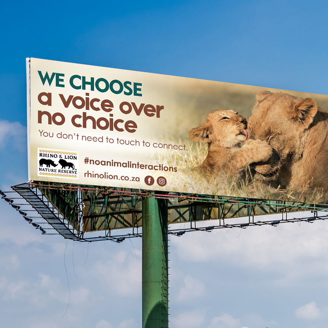 We Choose A Voice Over No Choice Campaign